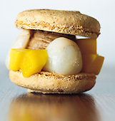 macarons letchis