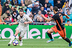 Daniel Carvajal Ramos of Real Madrid in action during their La Liga match between Real Madrid and Valencia CF at the Santiago Bernabeu Stadium on 29 April 2017 in Madrid, Spain. Photo by Diego Gonzalez Souto / Power Sport Images