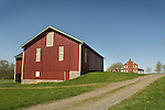 1829 Hower-Sloan House- National Historic Register. Barn and farmhouse.