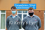Elijah Behane and Kieran Swan from Tarbert Comprehensive School