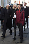 "Pic shows: Vanessa Redgrave and Joely Richarson with her children<br /> <br /> <br /> Funeral of Roger Lloyd-Pack - ""Trigger"" from Only Fools and Horses.<br /> <br /> Mourners arriving at the service at Actors Church in Covent Garden -<br /> <br /> <br /> <br /> <br /> Pic by Gavin Rodgers/Pixel 8000 Ltd"