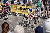 Sasha Weemaes (BEL/Sport Vlaanderen - Baloise) rolling through Heist-op-den-Berg<br /> <br /> Heylen Vastgoed Heistse Pijl 2021 (BEL)<br /> One day race from Vosselaar to Heist-op-den-Berg (BEL/193km)<br /> <br /> ©kramon