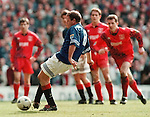 Gazza slots away goal number three from the penalty spot to seal the 1995-96 Premier League title against Aberdeen at Ibrox