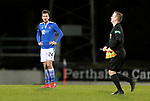 St Johnstone v Hamilton Accies…30.12.20   McDiarmid Park     SPFL<br />A disappointed Callum Booth at full time<br />Picture by Graeme Hart.<br />Copyright Perthshire Picture Agency<br />Tel: 01738 623350  Mobile: 07990 594431