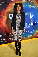 """LOS ANGELES - FEBRUARY 26: Gina Torres attends National Geographic's 2020 Los Angeles premiere of """"Cosmos: Possible Worlds"""" at Royce Hall on February 26, 2020 in Los Angeles, California. Cosmos: Possible Worlds premieres Monday, March 9 at 8/7c on National Geographic. (Photo by Frank Micelotta/National Geographic/PictureGroup)"""