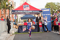 Orlando, FL - Wednesday March 07, 2018: USWNT fan at the U.S. Soccer Devolopment Go For the Goal event during the She Believes Final Cup Match featuring USA Women's National Team vs. Englands Women's National Team