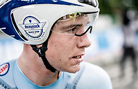 Remco Evenepoel (BEL/Deceuninck-Quickstep) finishes an AMAZING 2nd as an 19yr old in the elite category <br /> <br /> Elite Men Individual Time Trial<br /> from Northhallerton to Harrogate (54km)<br /> <br /> 2019 Road World Championships Yorkshire (GBR)<br /> <br /> ©kramon