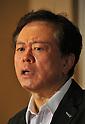 Naoki Inose of Tokyo Metropolitan Government Elaborates a Contingency Plan of Earthquakes