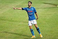 Dries Mertens of SSC Napoli gestures<br /> during the friendly football match between SSC Napoli and L Aquila 1927 at stadio Patini in Castel di Sangro, Italy, August 28, 2020. <br /> Photo Cesare Purini / Insidefoto