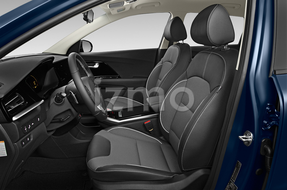 Front seat view of 2022 KIA Niro-EV EX 5 Door Hatchback Front Seat  car photos