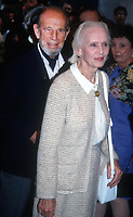 Hume Cronyn and Jessica Tandy 1992<br /> Premiere of Patriot Games<br /> Photo By John Barrett/PHOTOlink