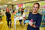Chloe Mullvihill, Supervising Pharmacist at Lloyds Pharmacy Ashe Street. Front right: Chloe Mulvihill. Back l to r: Aleksandra Rojek and Irene McNamara.