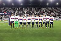 FORT LAUDERDALE, FL - DECEMBER 09: USMNT starting eleven during a game between El Salvador and USMNT at Inter Miami CF Stadium on December 09, 2020 in Fort Lauderdale, Florida.