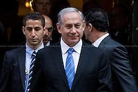 10.09.2015 - The Prime Minister of Israel Benjamin Netanyahu at 10 Downing St.