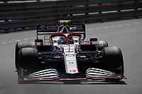 23rd May 2021; Principality of Monaco; F1 Grand Prix of Monaco,   Race Day;  Antonio Giovinazzi ITA 99 , Alfa Romeo Racing ORLEN