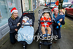 Mary Mangan, Ozzie Flandes, Rachel, Eolann and Fergal Flood ready to shop in Castleisland