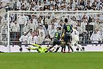Real Sociedad's Geronimo Rulli during La Liga match between Real Madrid and Real Sociedad at Santiago Bernabeu Stadium in Madrid, Spain. January 06, 2019. (ALTERPHOTOS/A. Perez Meca)<br />  (ALTERPHOTOS/A. Perez Meca)