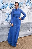 LONDON, UK. June 25, 2019: Amber Le Bon arriving for the Serpentine Gallery Summer Party 2019 at Kensington Gardens, London.<br /> Picture: Steve Vas/Featureflash