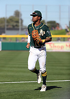 Buddy Reed - Oakland Athletics 2020 spring training (Bill Mitchell)
