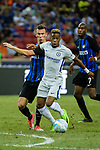 Chelsea Midfielder Charly Musonda (R) competes for the ball with FC Internazionale Forward Ivan Perisic (L) during the International Champions Cup 2017 match between FC Internazionale and Chelsea FC on July 29, 2017 in Singapore. Photo by Weixiang Lim / Power Sport Images