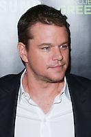 HOLLYWOOD, LOS ANGELES, CA, USA - NOVEMBER 07: Matt Damon arrives at HBO's 'Project Greenlight' Season 4 Winner Announcement held at Boulevard3 on November 7, 2014 in Hollywood, Los Angeles, California, United States. (Photo by David Acosta/Celebrity Monitor)