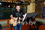 Musician Danny Goggin playing live music in Sean Og's for the first time in 16 months on Tuesday,