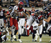 Ken-Yon Rambo Calgary Stampeders 2005. Photo Errol McGihon