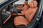 Front seat view of 2021 Mercedes Benz S-Class - 4 Door Sedan Front Seat  car photos