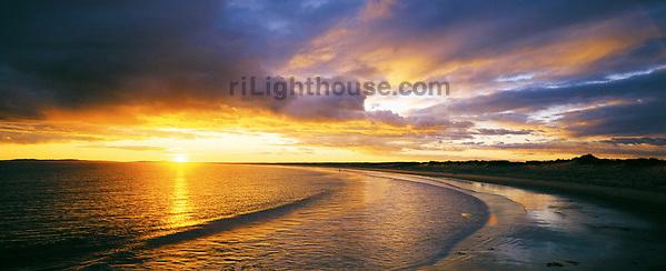 Watch Hill Beach Sunset
