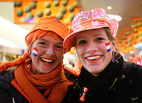 10-2-06, Netherlands, tennis, Amsterdam, Daviscup.Netherlands Russia, Dutch supporters