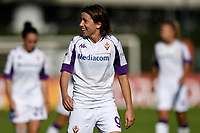 Daniela Sabatino of ACF Fiorentina reacts during the women Serie A football match between AS Roma and ACF Fiorentina at Tre Fontane Stadium in Roma (Italy), November 7th, 2020. Photo Andrea Staccioli / Insidefoto