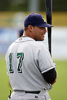 June 23rd 2008:  Felix Martinez of the Jamestown Jammers, Class-affiliate of the Florida Marlins, during a game at Dwyer Stadium in Batavia, NY.  Photo by:  Mike Janes/Four Seam Images