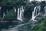 Waterfalls near Mudjugorje, Bosnia.