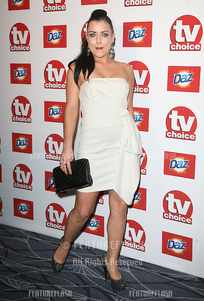 Shona McGarty arriving for the 2011 TVChoice Awards, at The Savoy, London. 13/09/2011 Picture by: Alexandra Glen / Featureflash