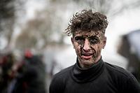 out-of-hand mascara experiment or post-race face?<br /> <br /> Jaarmarktcross Niel 2019 (BEL)<br /> <br /> ©kramon
