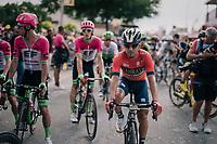 Domenico Pozzovivo (ITA/AG2R-La Mondiale) rolling in<br /> <br /> Stage 7: Fougères > Chartres (231km)<br /> <br /> 105th Tour de France 2018<br /> ©kramon