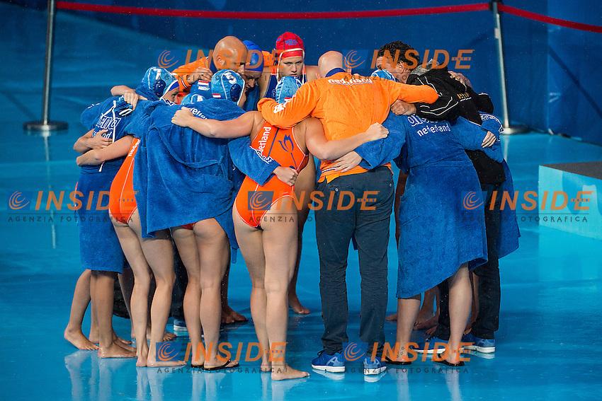 Team Netherlands NED<br /> Preliminary Round II<br /> Waterpolo - Waterpolo Arena<br /> Day09 01/08/2015<br /> XVI FINA World Championships Aquatics Swimming<br /> Kazan Tatarstan RUS July 24 - Aug. 9 2015 <br /> Photo A.Masini/Deepbluemedia/Insidefoto
