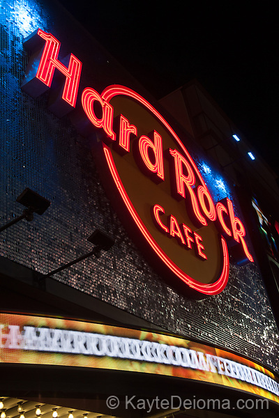 Hard Rock Cafe at Hollywood & Highland Center in Hollywood, Los Angeles, CA