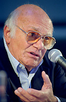 Montreal, Canada - File Photo<br /> <br /> Italian Film maker Francesco  Rosi seen in August 2000 at the World Film Festival.<br /> <br /> Rosi passed away January 10, 2015