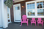Front Porch with Pink Chairs