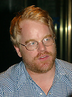 Phillip Seymour Hoffman  ATTENDS<br /> ROBIN WILLIAMS LIVE ON  BROADWAY AT THE BROADWAY THEATRE IN NEW YORK CITY 07/14/02<br /> Photo By John Barrett/PHOTOlink /MediaPunch