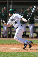 February 26, 2010:  Second Baseman Ryan Jones of the Michigan State Spartans during the Big East/Big 10 Challenge at Raymond Naimoli Complex in St. Petersburg, FL.  Photo By Mike Janes/Four Seam Images
