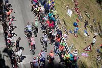 breakaway group at the Passo di San Boldo<br /> <br /> Stage 19: Treviso to San Martino di Castrozza (151km)<br /> 102nd Giro d'Italia 2019<br /> <br /> ©kramon