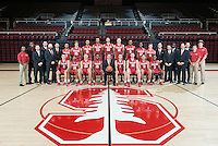 Stanford, Ca - October 19, 2016: The Stanford Cardinal Men's Basketball Team Photo
