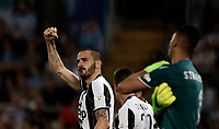 Calcio, Tim Cup: finale Juventus vs Lazio. Roma, stadio Olimpico, 17 maggio 2017.<br /> Juventus' Leonardo Bonucci, left, celebrates after scoring during the Italian Cup football final match between Juventus and Lazio at Rome's Olympic stadium, 17 May 2017.<br /> UPDATE IMAGES PRESS/Isabella Bonotto