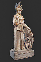 The Varvakeion goddess Athena (200-250 A.D.) in National Museum, Greece