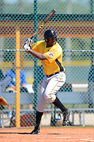 Pittsburgh Pirates outfielder Josh Bell #19 during a minor league Spring Training game against the Toronto Blue Jays at Pirate City on March 25, 2013 in Bradenton, Florida.  (Mike Janes/Four Seam Images)