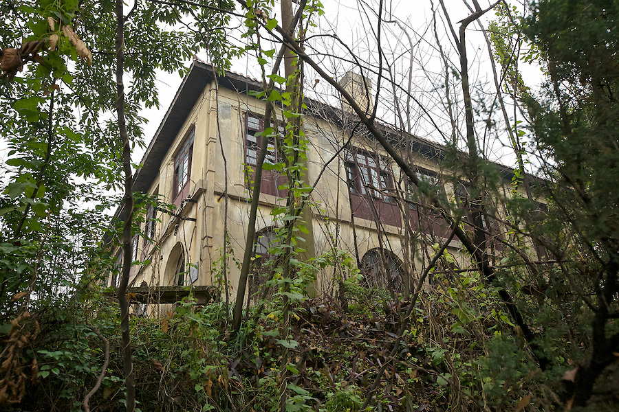 The Butterfield & Swire Agent's Former Residence, Chongqing (Chungking), Viewed From The Path Up To The Property.