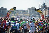 Chateau de Versailles start<br /> <br /> Tour de France 2013<br /> (final) stage 21: Versailles - Paris Champs-Elysées<br /> 133,5km