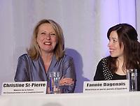 Christine Saint-Pierre (L)  in 2012